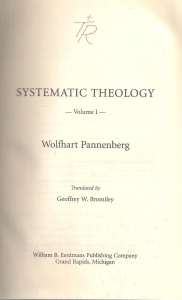/Systematic Theology. Volume 1 (бук.) ― Архе
