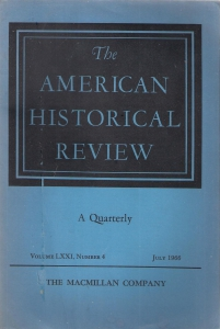 The American Historical Review. Volume LXXI, Number 4, july 1966 (бук.) ― Архе