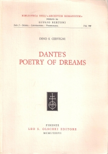 Dante's poetry of dreams (бук.) ― Архе