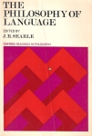 The philosophy of language (J.R.Searle)(бук.)