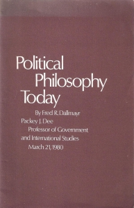 Political philosophy today (бук.) ― Архе