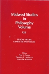 Midwest Studies in Philosophy. Volyme XIII. Ethical theory: character and virture(бук.)
