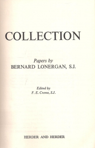 Collection. Papers by Bernard Lonergan (бук.) ― Архе