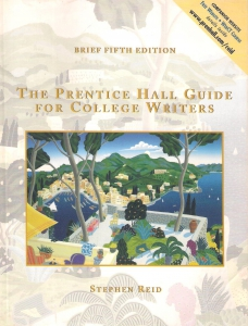 The Prentice Hall guide for College Writers (бук.) ― Архе