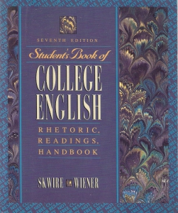 Student's book of college English. Rhetoric, readings, handbook (бук.) ― Архе