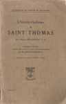 L'Intellectualisme de Saint Thomas (бук.)