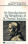 An introduction to the metaphysics of st. Thomas Aquinas (бук.)