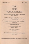 The New Scholasticism. Volume LVIII, nomber 1, winter 1984 (бук.)