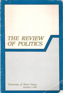 The review of politics (бук.) ― Архе