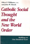 Catholic social thought and the New World Order (бук.)