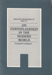 On Evangelization in the Modern World. Evangelii Muntandi. Apostolic exhoration of Paul VI (бук.)