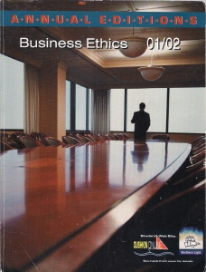 Annual edition: business ethics 01/02 (бук.) ― Архе