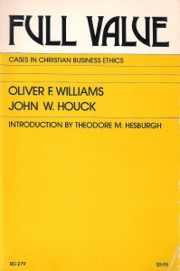 Full value. Cases in christian business ethics (бук.) ― Архе