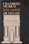 Chambers Murray Latin-English Dictionary (бук.)